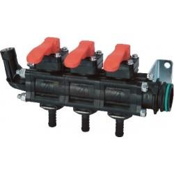 Grupo de válvulas manuales 3 vías T5 ARAG - 46305351