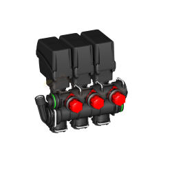 Grupo válvulas de sección modulares 863T con retorno calibrado ARAG - 863T0130