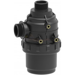 """Filtro aspiración 160L/min sin válvula 1"""" 1/4 80mesh ARAG - 31420535"""