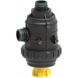Filtro aspiración 220L/min con válvula para horquilla T6 50 mesh ARAG - 31624E3