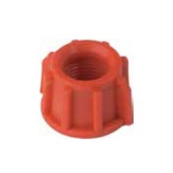 Tuerca plástico 3/8 (Caja de 25 unidades)