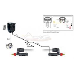 Cable de conexión para 2 Seletron fin de barra (19mts.) ARAG