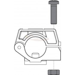 Kit tornillos Inox para portaboquilla plástico (Caja de 10 unidades) ARAG
