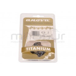 "Cadena Anova Titanium  72 eslabones .325""  .058""- 1.5   33-CTG5C-72"
