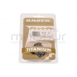 "Cadena Anova Titanium  52 eslabones .3/8""BP  .050""- 1.3   33-CTE3C-52"