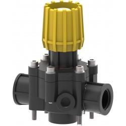 Válvula de regulación proporcional manual con conexión roscada 125L/min ARAG