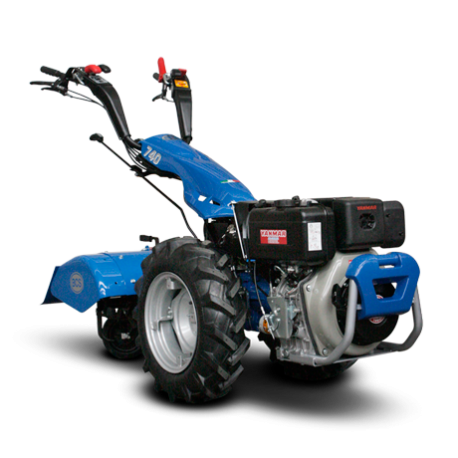 MOTOCULTOR BCS 740 POWERSAFE DIESEL 10 CV