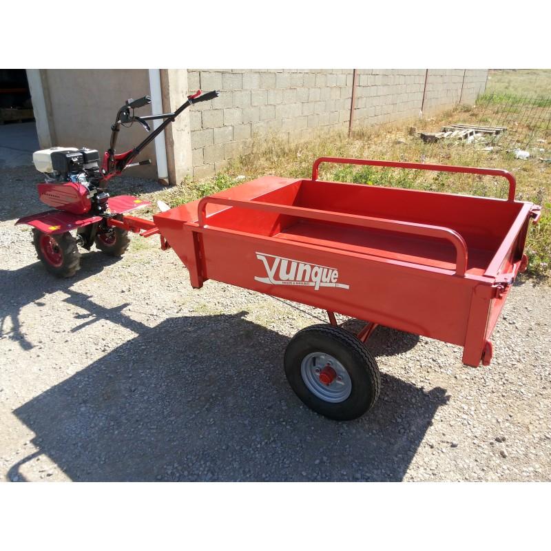Remolque agricola - Aperos para motoazada ...