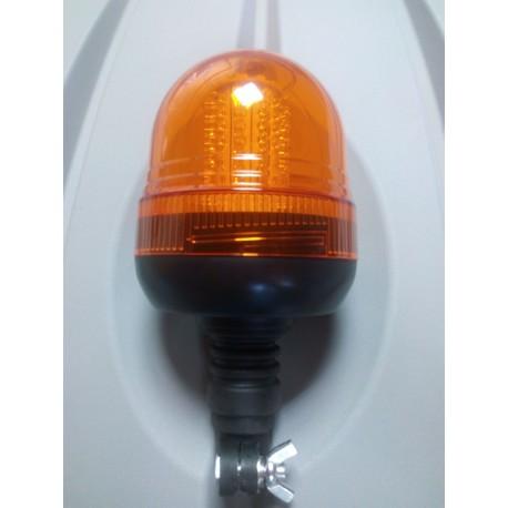 ROTATIVO 80 LED FLEXIBLE ALTO 12 - 24V