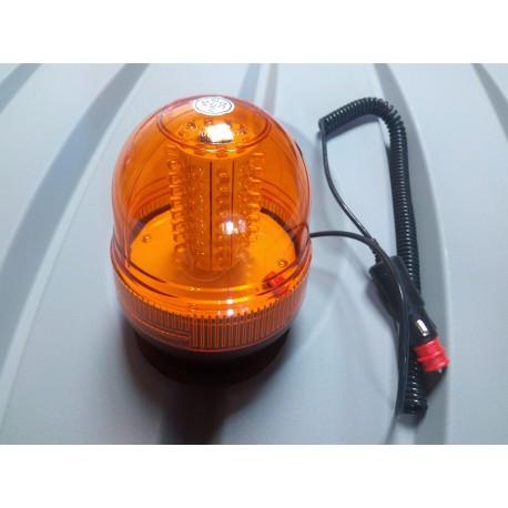 ROTATIVO 80 LED MAGNETICO 12 - 24V