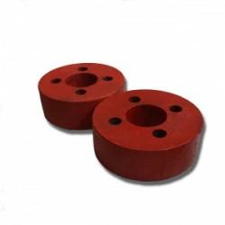 Juego de contrapesos, rueda 10 + 10 Kg. 400 x 8