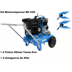 MOTOCOMPRESOR CAMPAGNOLA MC 540