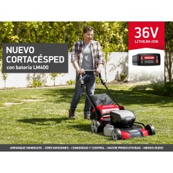 Cortacésped OREGON LM400 Batería Ion-Litio