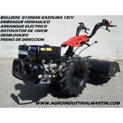 Motocultor Groway Bulldog  G1300AE  Arranque Eléctrico  Embrague Hidráulico