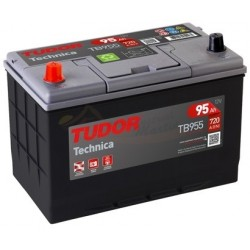 Batería Tudor Technica TB955 12V 95Ah 720A