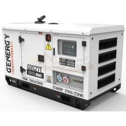 GRUPO ELECTROGENO GENERGY GDS27T – 27kVA 22kW 400/230V