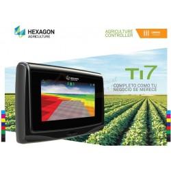 Gps agrícola Hexagon TI7 guiado visual Glonass