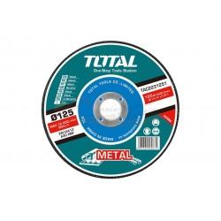 DISCO ABRASIVO CORTE METAL AMOLADORA 125MM 6.0MM - TAC2231251