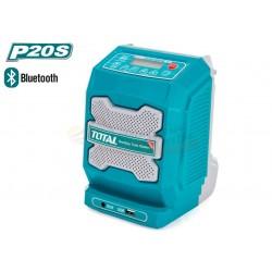 RADIO DE TRABAJO BLUETOOTH 4.0 3W TOTAL - P20S - TJRLI2001